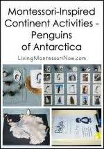 Penguins Passport Giveaway - montessori inspired continent activities with animal