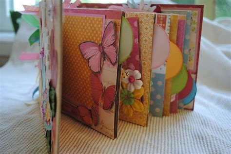 How To Make A Paper Album - handmade paper bag album scrapbook scrapbooking
