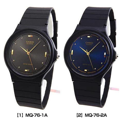 Jam Casio Original Mq 76 jam tangan casio original mq 76 series elevenia