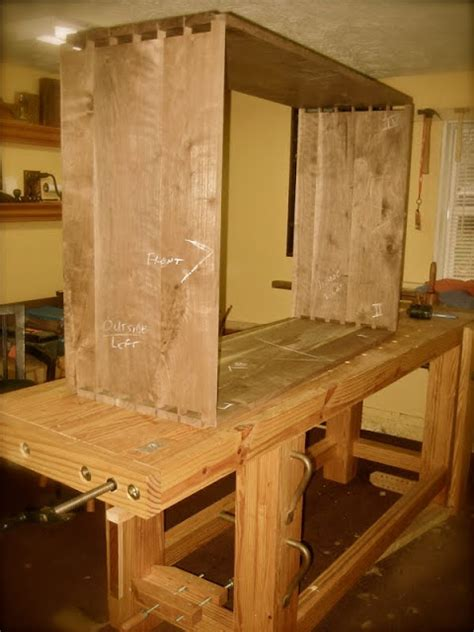 The Cottage Workshop Carcass Dovetails