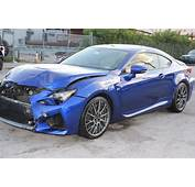 Front Hit 2015 Lexus RC F Repairable For Sale