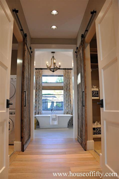 Barn Doors Pantry Design Ideas