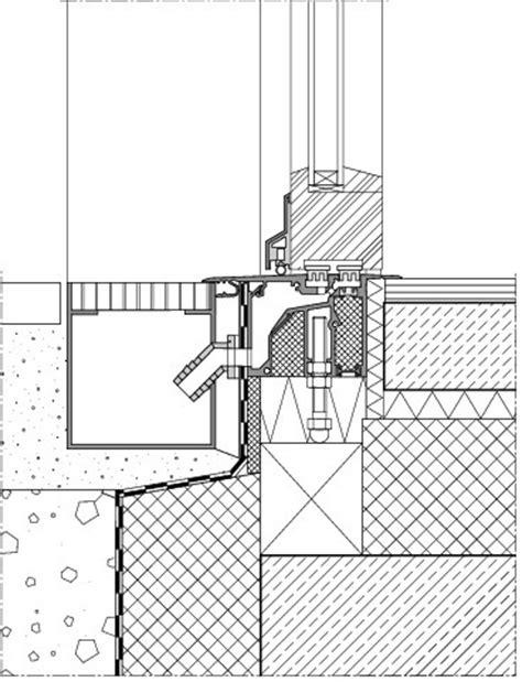 terrasse detail entw 228 sserungsrinne detail hrbayt