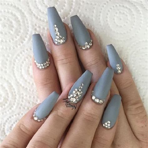 grey pattern nails 50 coffin nail art designs nenuno creative