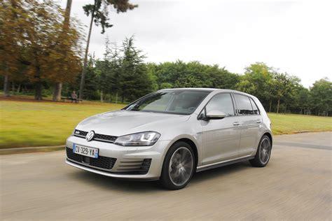 volkswagen golf diesel essai volkswagen golf gtd la plus puissante des golf diesel