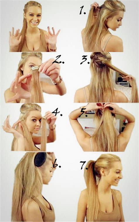 Leichte Frisuren Zum Selbermachen by Einfache Frisuren Zum Selbermachen F 252 R Lange Haare