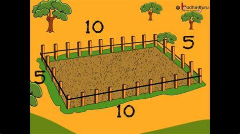 maths perimeter   rectangle hindi youtube