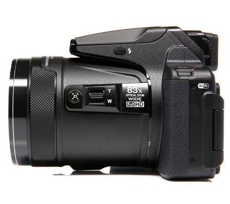 buy nikon coolpix p bridge camera black