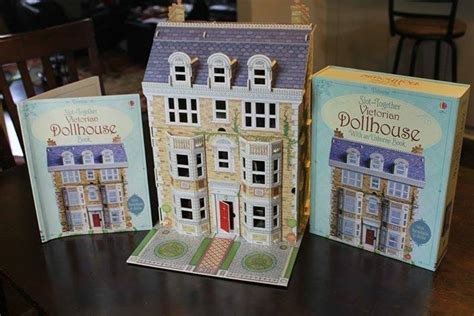 a doll s house book usborne slot together victorian doll s house babyonline