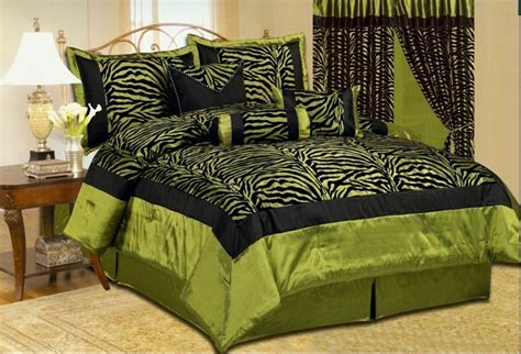 green bed whole home design green comforter sets