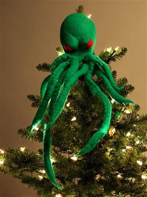 cthulhu ornament cthulhu tree topper neatorama