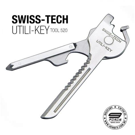 utili key 6 in 1 tool swiss tech utili key 6 in 1