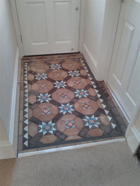 White And Blue Tiles In Bathroom Reclaimed Floor Amp Quarry Tiles For East Sussex