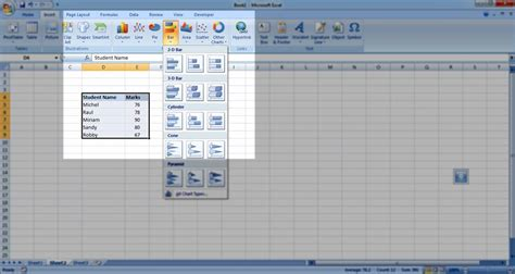 create charts how to create excel charts ms excel charting tutorial
