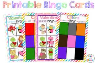free printable bingo cards for kids fun with mama