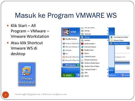 membuat shortcut gmail panduan menggunakan vmware workstation v1012