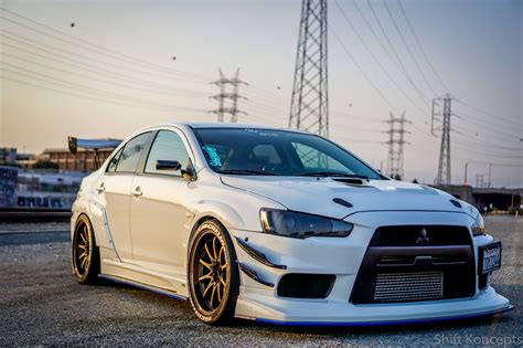 widebody evo chargespeed widebody evo x photoshoot evolutionm