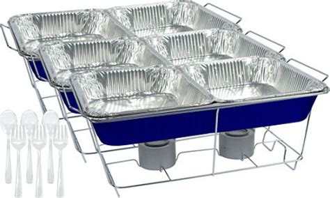 chafing dishes aluminum pans chafing fuel party city