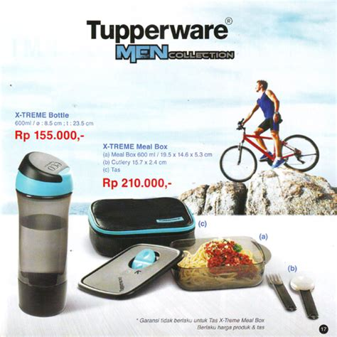 Tupperware X Treme Bottle 600ml jual tupperware x treme meal box bottle bundle
