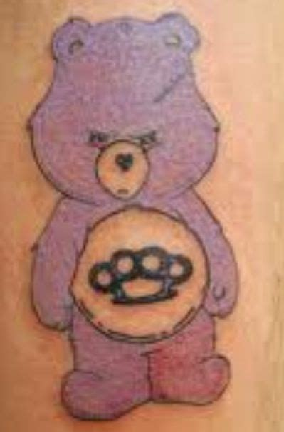 panda knucklehead tattoo care bear tattoo things i love pinterest bear