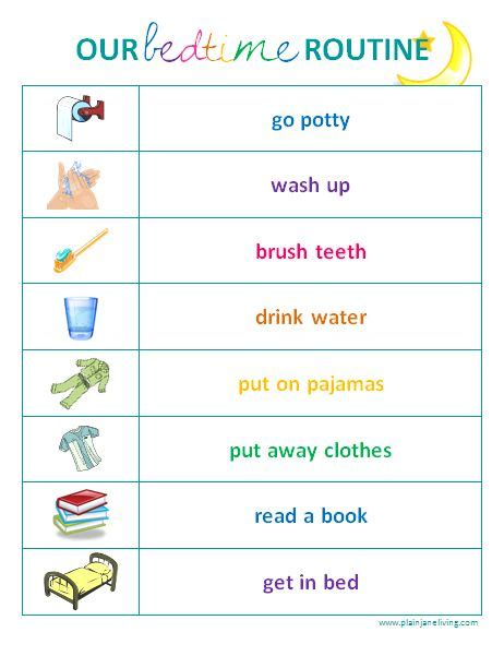 25 best ideas about bedtime gallery bedtime routine checklist