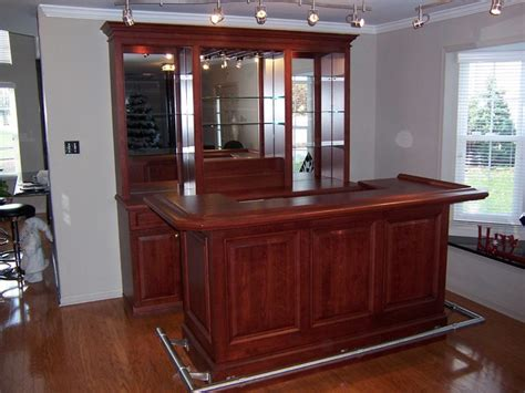 General Builders And Home Decorators freestanding bar traditional home bar philadelphia
