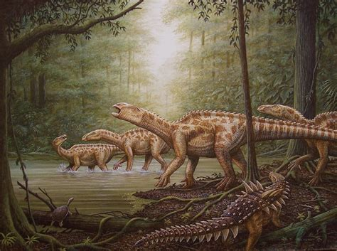 painting dinosaurs new dinosaur painting by phil wilson cliff knecht artist