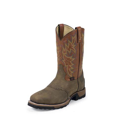 tony lama work boots tony lama tlx antique brown montana work boots steel toe