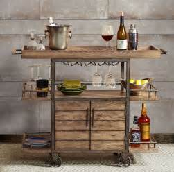 Kitchen Island Cart Walmart rustic bar cart portable serving tray wine beverage drink