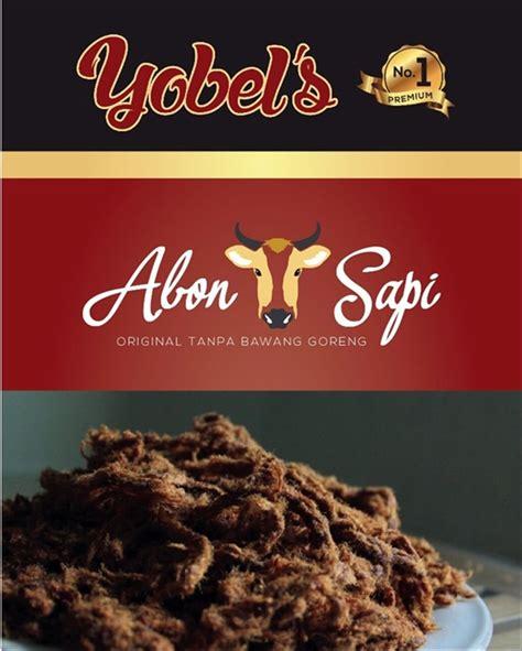 jual abon sapi asli yobel snack  bawang goreng khas