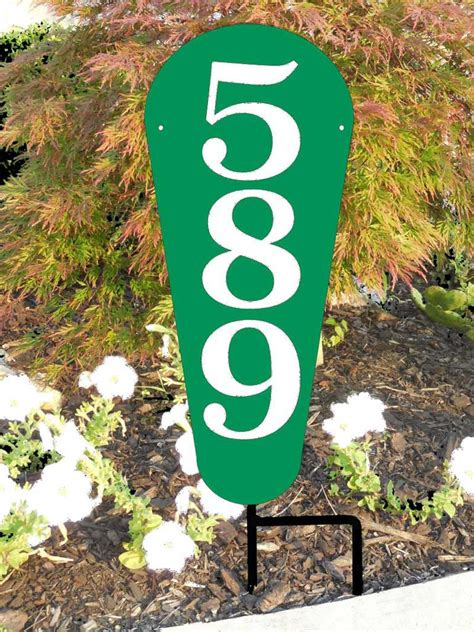 vertical house number signs vertical house number sign