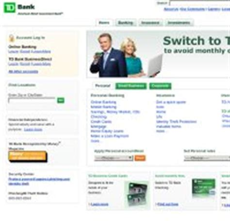 td bank official website tdbank is td bank right now