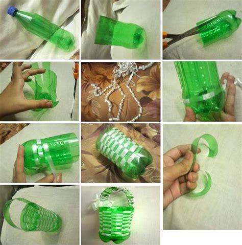cara membuat hiasan dinding unik botol plastik bekas keranjang dari botol bekas berbagi indonesia