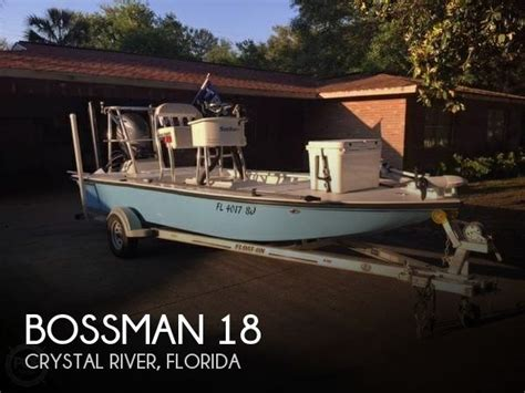 bossman 18 boat for sale in crystal river fl for 28 900 - Flats Boats For Sale Crystal River