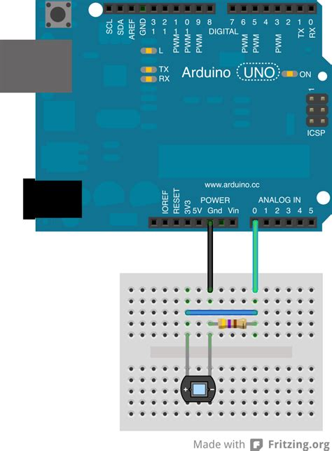 diode led arduino using a led as a photodiode