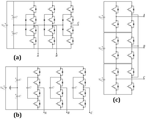 flying capacitor multilevel inverter circuit diagram electronics free text a comparative reliability study of three fundamental multilevel