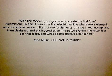 elon musk vision statement why it s important for electric cars to feel familiar