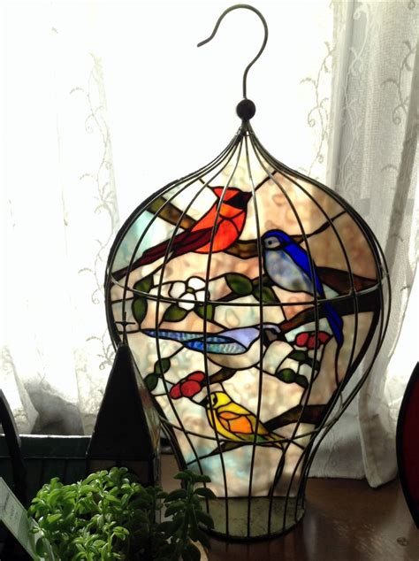 296 best stained glass feathered friends images on pinterest