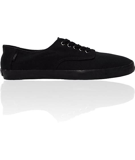 vans e all black skate shoes mens at zumiez pdp