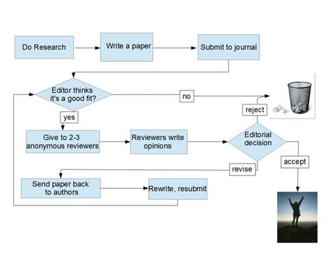Paper Flow Chart - review of papers byte size biology