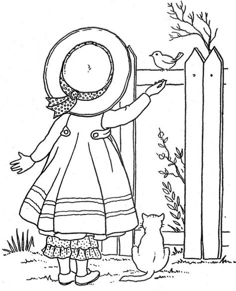 vintage patterns coloring pages 1000 images about bonnet girls quilts on pinterest