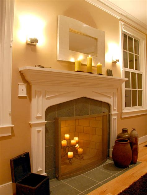 Nice Over The Fireplace Decor On Lighting Design Updates Lights In Fireplace