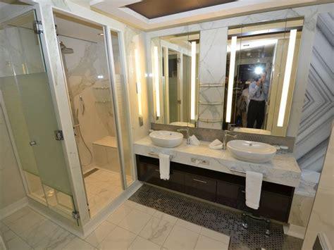 escape bathrooms first look inside the new norwegian escape s swankiest