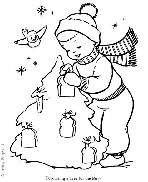 christmas birds coloring pages christmas coloring pages for the birds