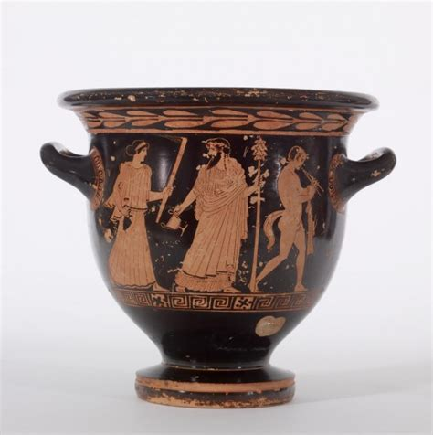 Dionysus Vase by Figure Bell Krater 183 The Walters Museum 183 Works Of