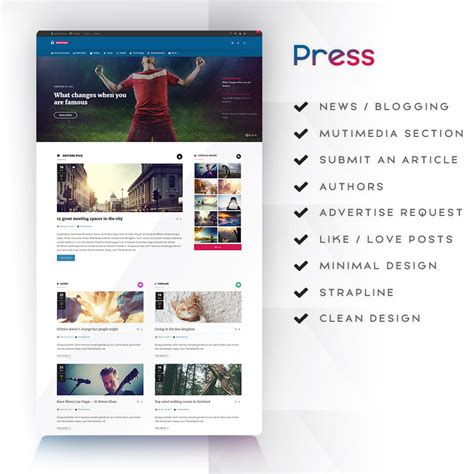 pinterest layout react react responsive multi purpose wordpress framework by