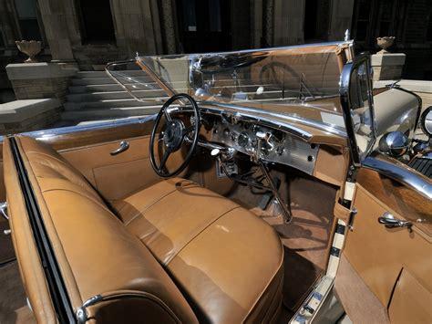 Duesenberg Interior by 1930 Duesenberg Model J 391 2315 Convertible Berline Lwb