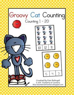 the cat counting book for children a nursery rhyme about addition 5 numbers math book for picture books for children ages 4 6 friendship the cat series volume 1 books groovy cat counting center