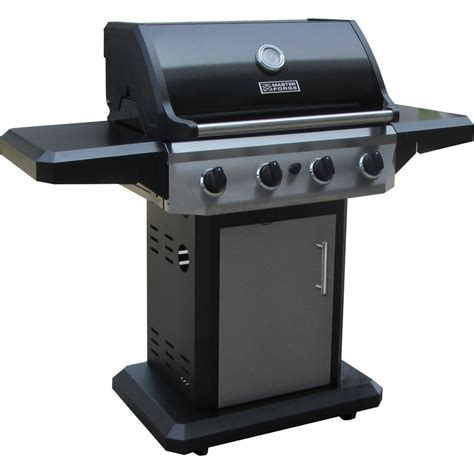 lowes gas grills shop master forge 4 burner 48 000 btu liquid propane gas