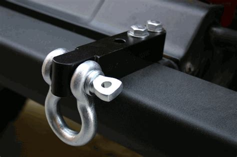 all things jeep d ring universal shackle kit for cjs